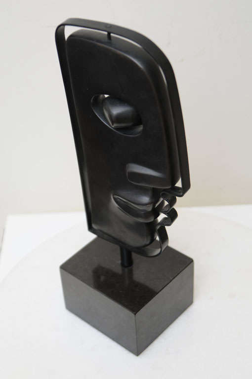 Fantastic Solid Bronze Signed Picasso Inspired Table Sculpture 8