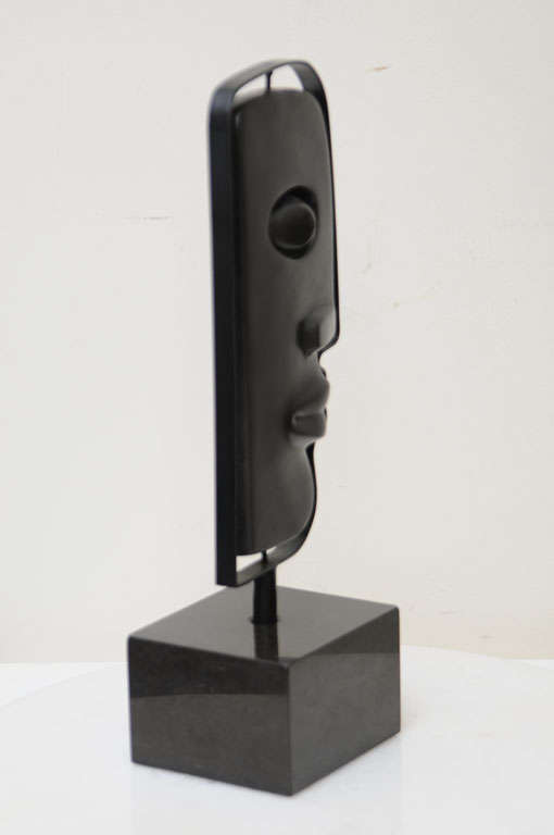 Fantastic Solid Bronze Signed Picasso Inspired Table Sculpture 9