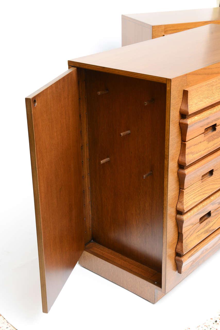 Harold Schwartz Sculpted Front Dressers by Romweber 4