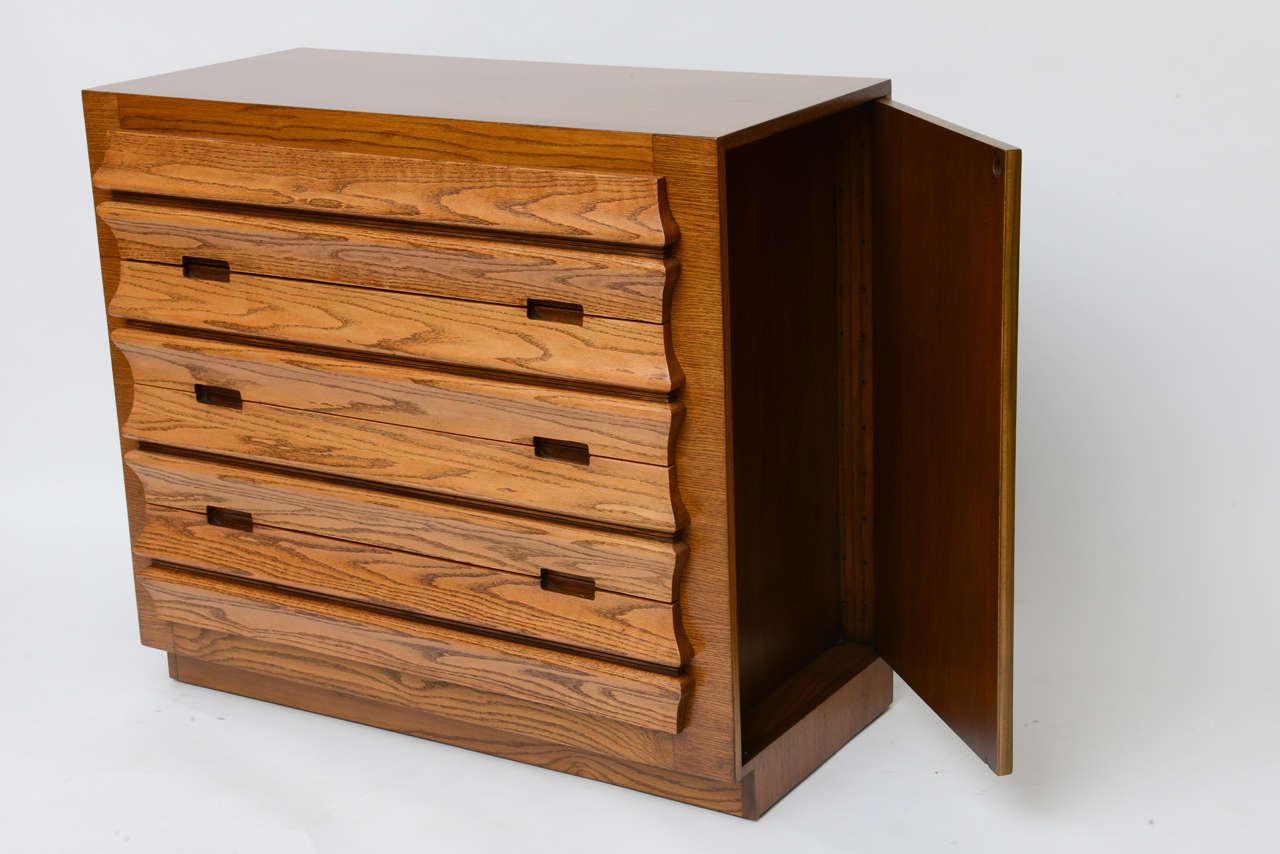 Harold Schwartz Sculpted Front Dressers by Romweber 7