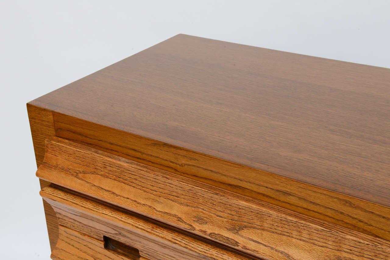 Harold Schwartz Sculpted Front Dressers by Romweber 8