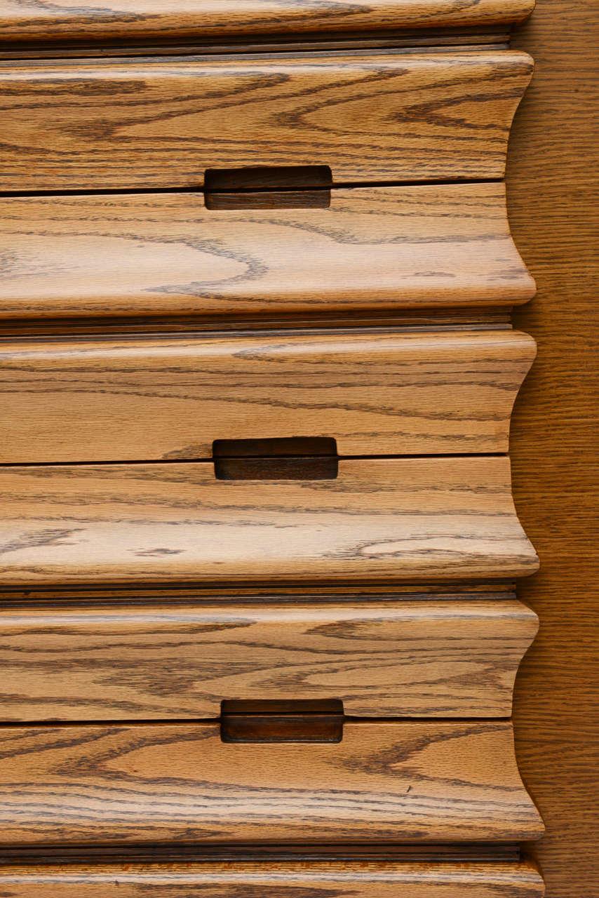 Harold Schwartz Sculpted Front Dressers by Romweber 10