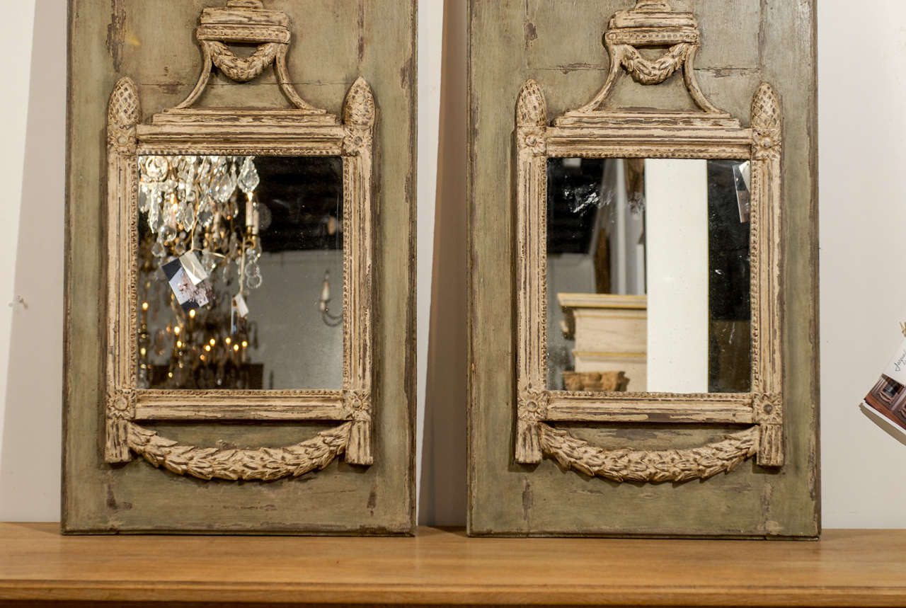 Pair Of Painted Trumeaux At 1stdibs