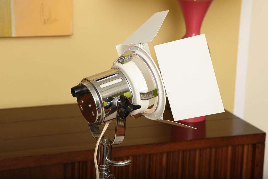 Versatile Klieg Style Berkey Colortran Floor Lamp At 1stdibs