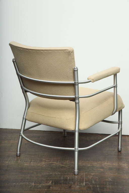 Open Arm Low Lounge Chair by Warren McArthur at 1stdibs