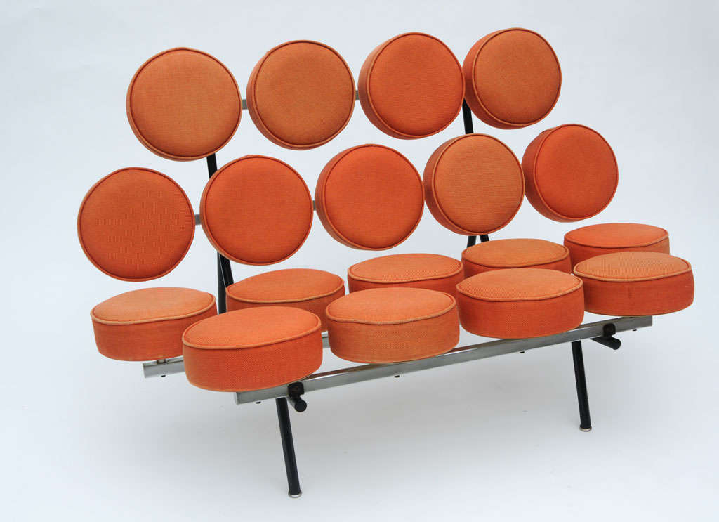 George Nelson Marshmallow Sofa For Sale At 1stdibs
