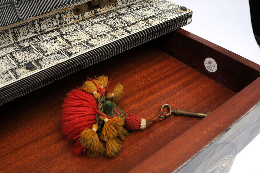 Rare Piero Fornasetti Cabinet In Good Condition For Sale In West Palm Beach, FL