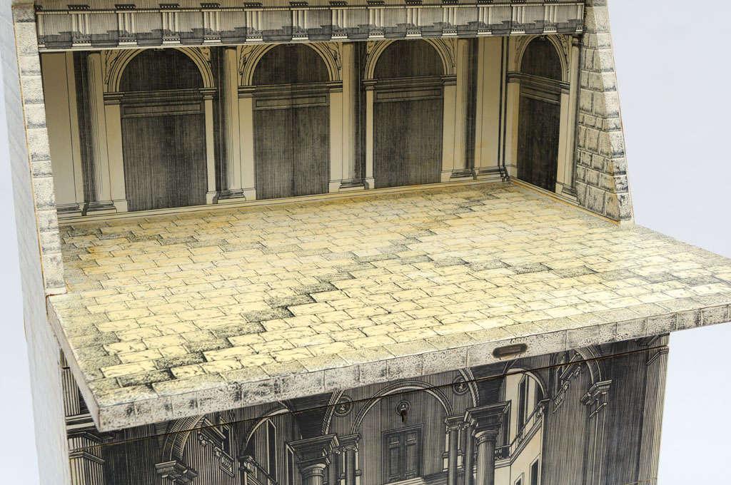 Rare Piero Fornasetti Cabinet For Sale 3