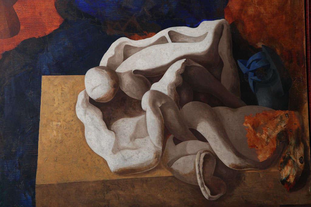 American Jorge Castillo, Oil on Canvas For Sale