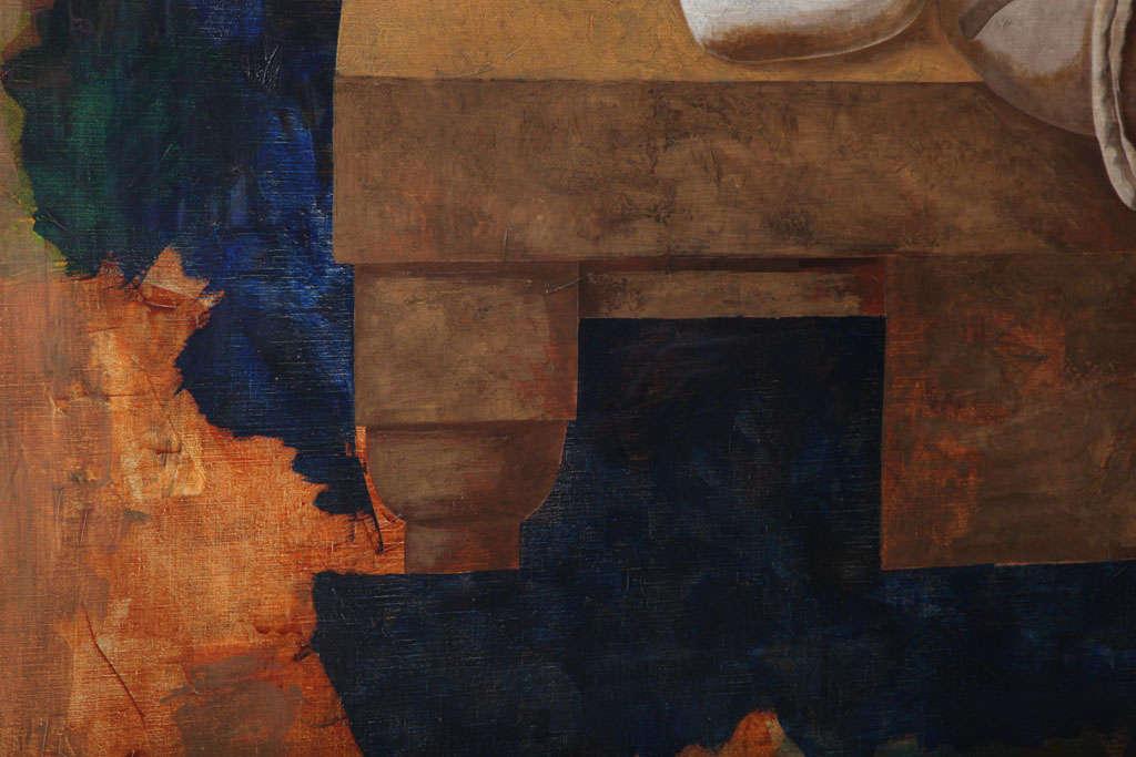 20th Century Jorge Castillo, Oil on Canvas For Sale