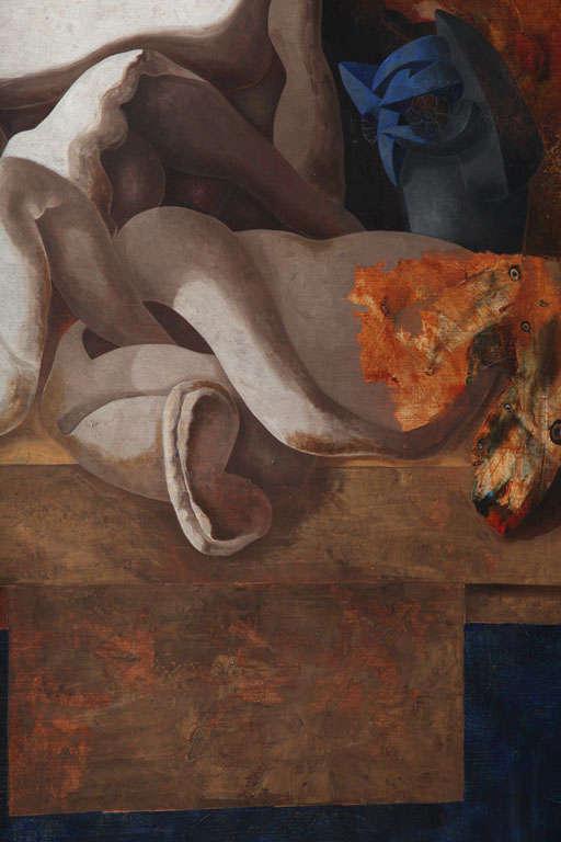 Jorge Castillo, Oil on Canvas For Sale 1