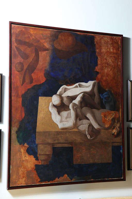 Jorge Castillo, Oil on Canvas For Sale 2