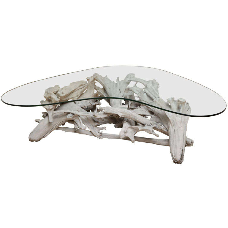 Boomerang Driftwood Coffee Table
