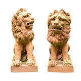 17th Century Style Lions