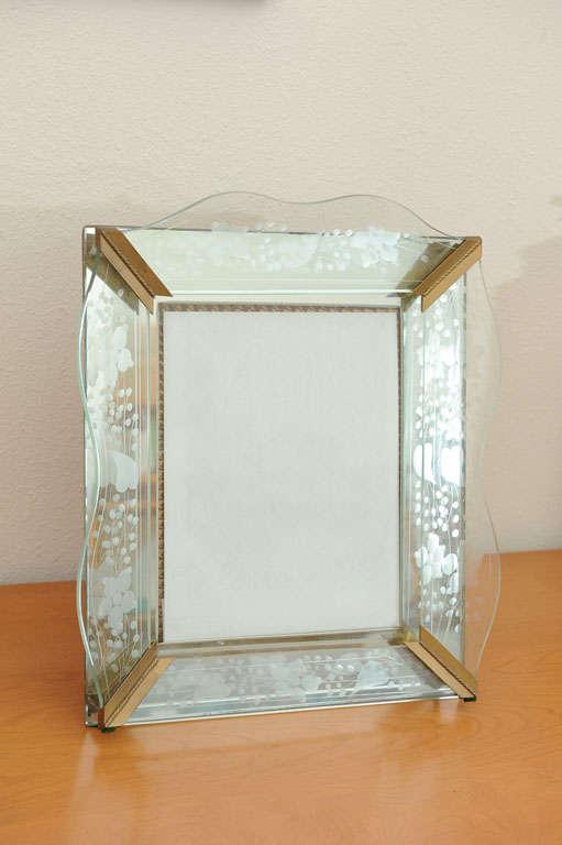 Vintage Art Deco Picture Frame For Sale at 1stdibs