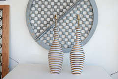 Swedish Horizontal Striped Lamps thumbnail 2