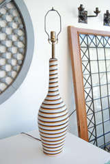 Swedish Horizontal Striped Lamps thumbnail 4