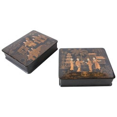 19th Century Chinoiserie Boxes