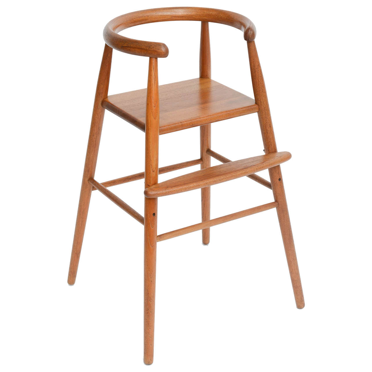 Teak Child 39 S Modern High Chair Nanna Ditzel For Kolds