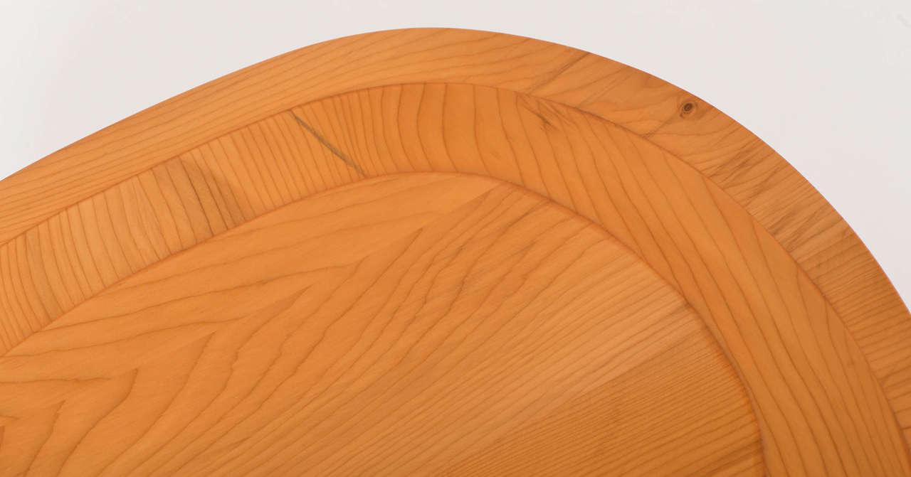 Contemporary John Makepeace yew wood