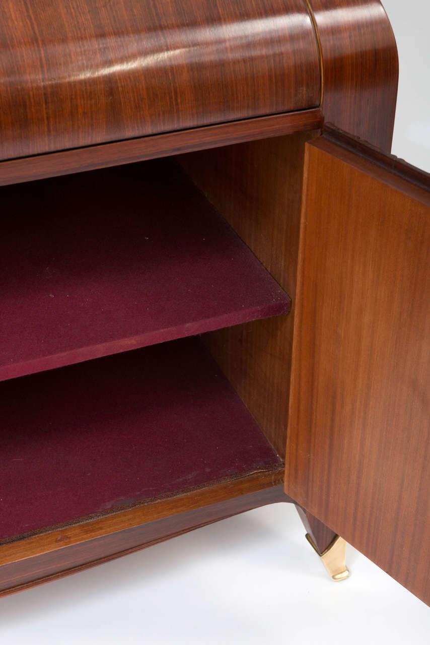 rare bureau bookcase by paolo buffa at 1stdibs. Black Bedroom Furniture Sets. Home Design Ideas