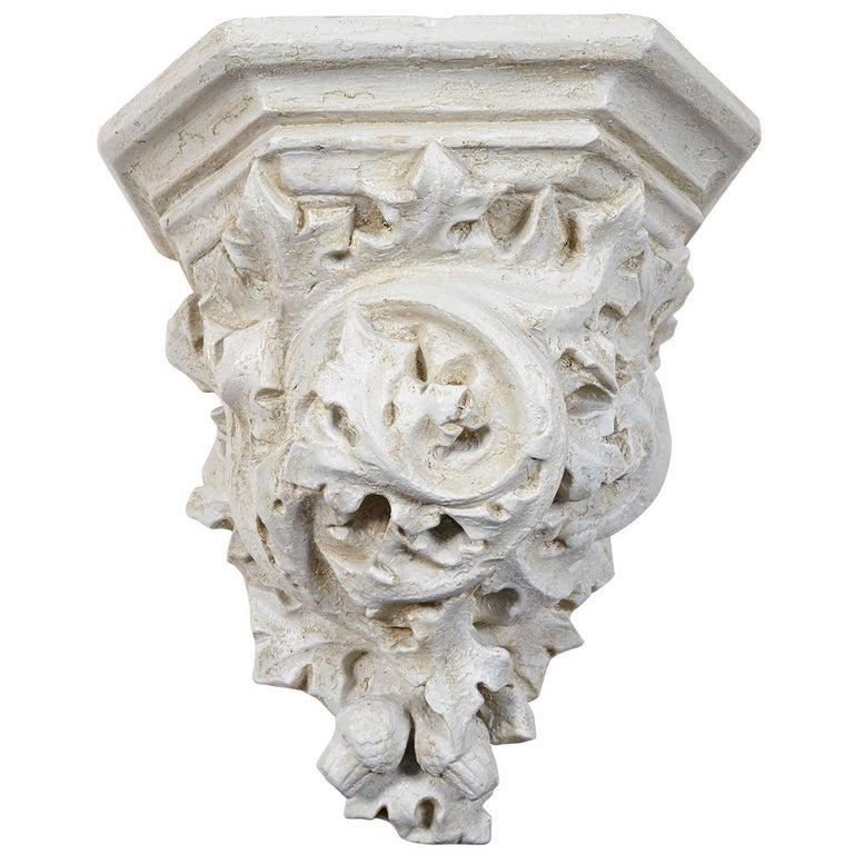 Rococo Style Cast Wall Bracket For Sale
