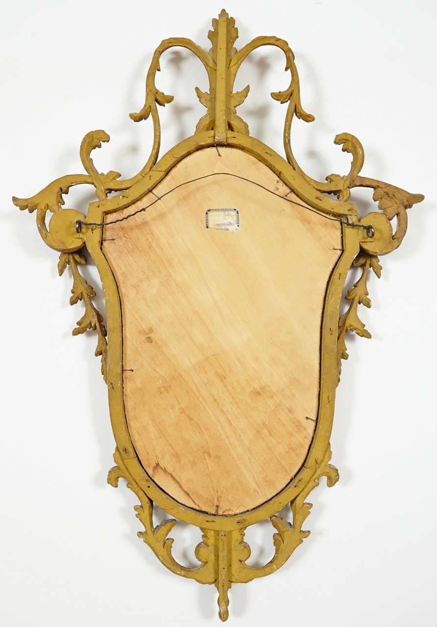 Small english adam style mirror for sale at 1stdibs for Adam style mirror