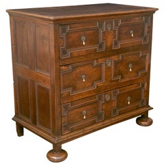 Jacobean Oak Chest of Drawers