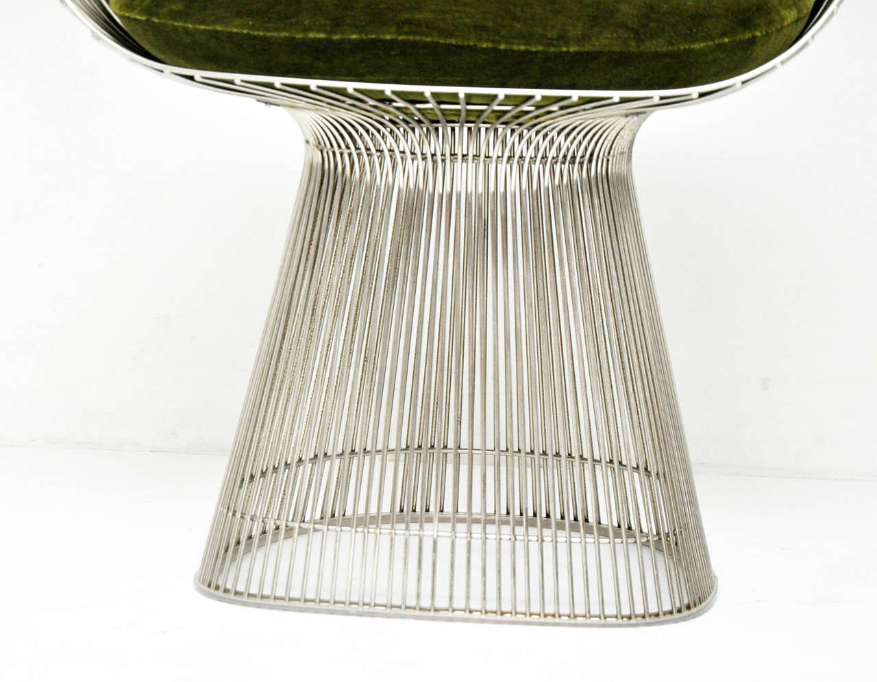 American Warren Platner Pair of Side Chairs For Sale