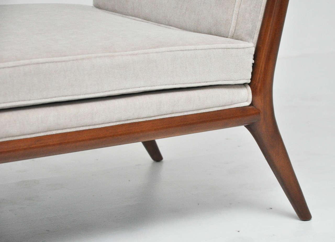 T h robsjohn gibbings chaise longue for sale at 1stdibs for Chaise longue for sale