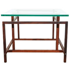 Rosewood Side Table by Henning Norgaard