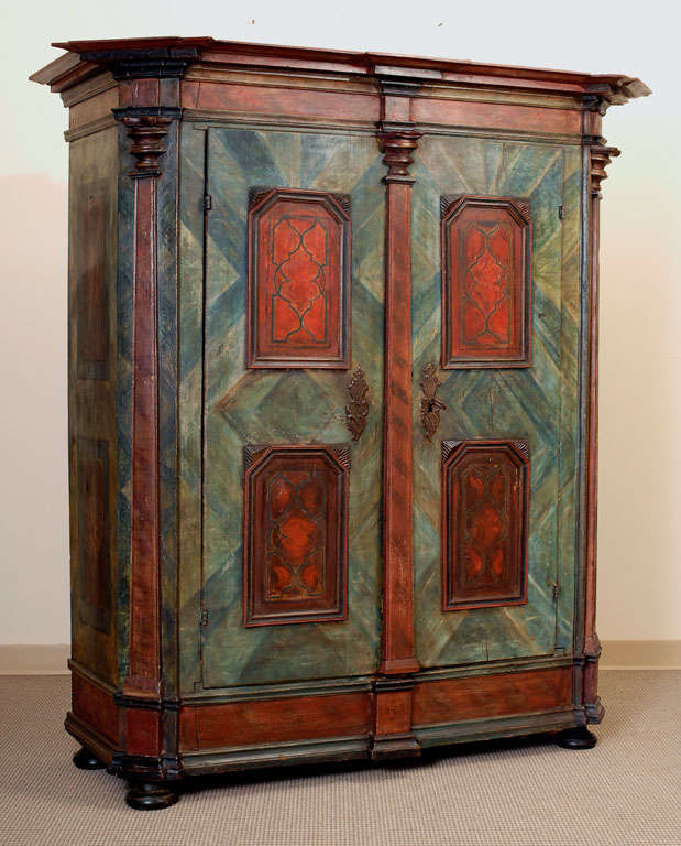 Painted Armoire 10