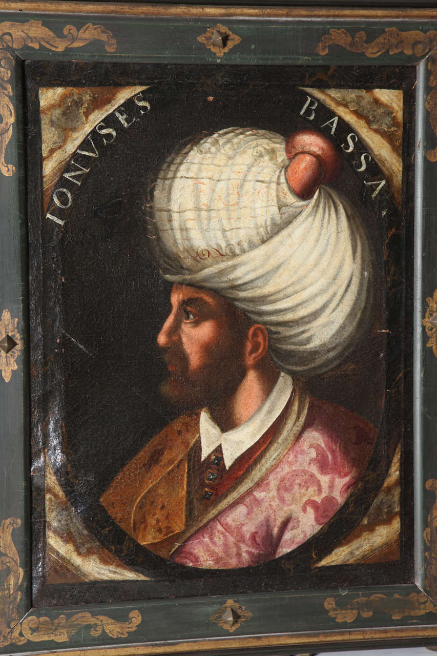 Pair of Portraits of Sultan Suleiman Chan &