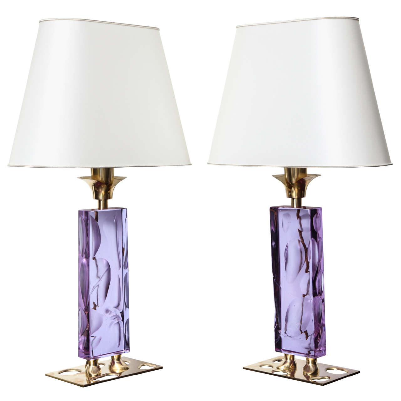 """Elfo,"" Unique Pair Of Table Lamps By Roberto Giulio Rida"