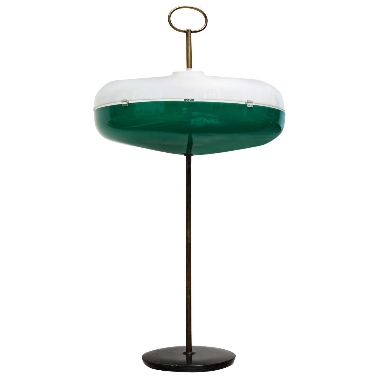Unusual Table Lamp Attributed To Arredoluce At 1stdibs