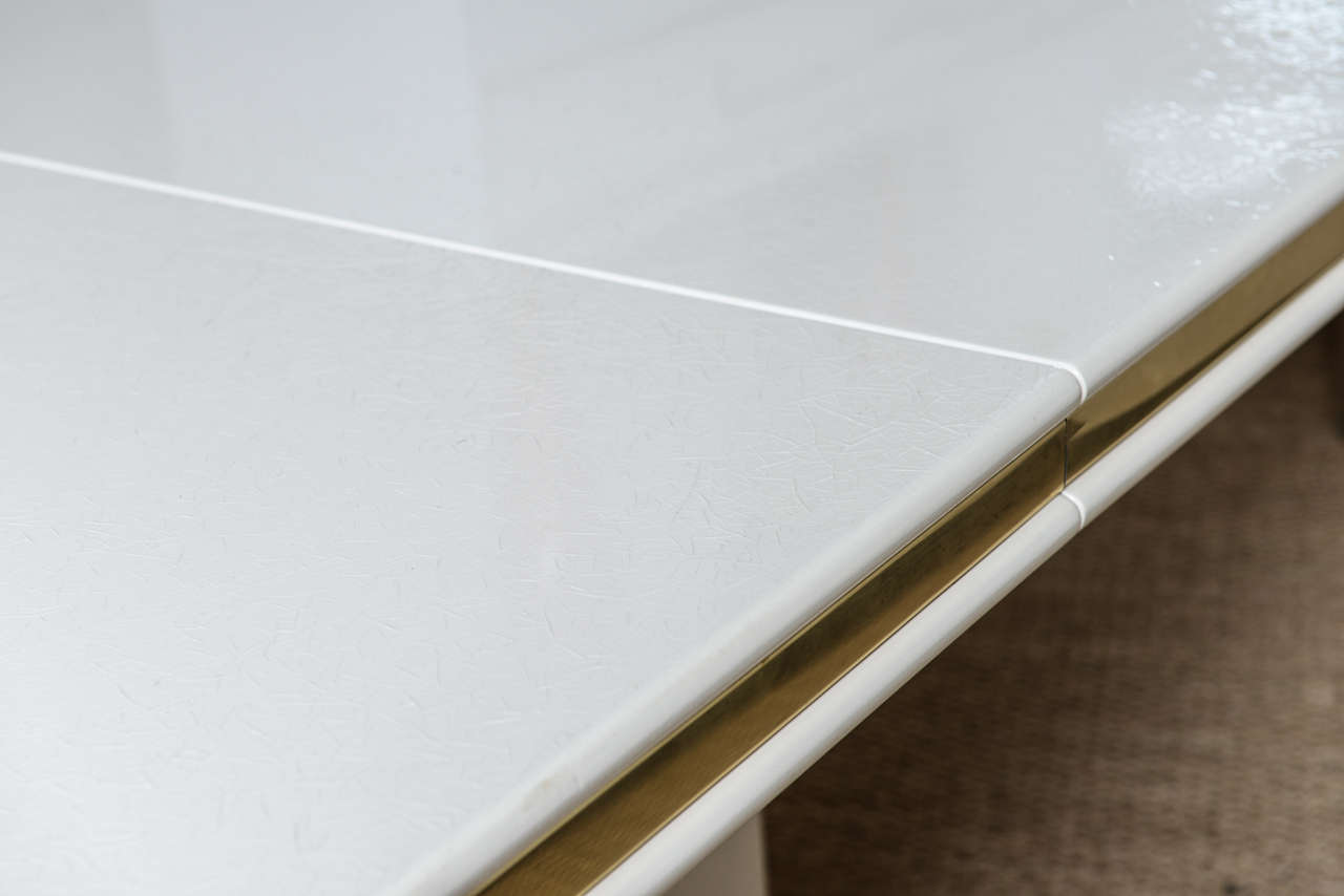 Roger Rougier Sculptural Expandable Dining Table At 1stdibs