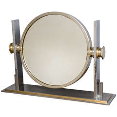 Karl Springer Vanity Mirror