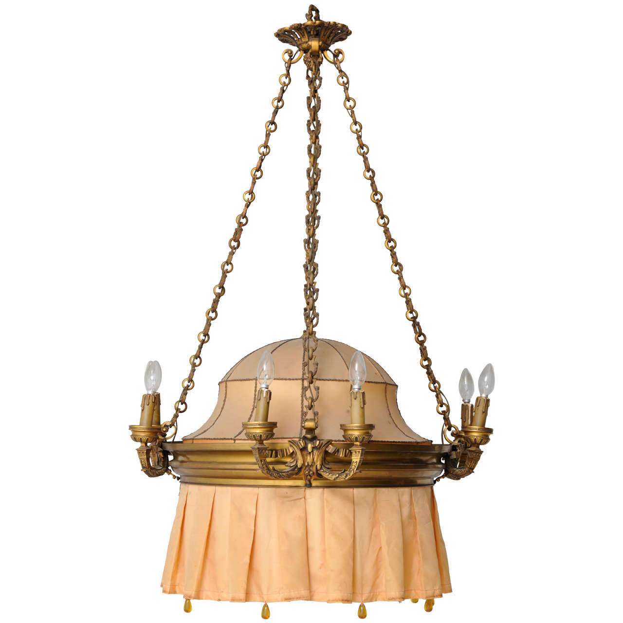 French art nouveau chandelier for sale at 1stdibs for Chandelier art nouveau