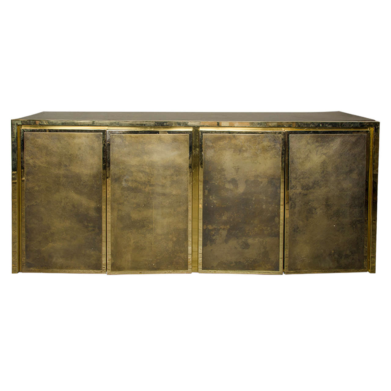 belgian metal sideboard at stdibs - belgian metal sideboard