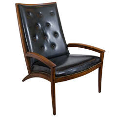 Midcentury Parallel Group Chair by Barney Flagg for Drexel