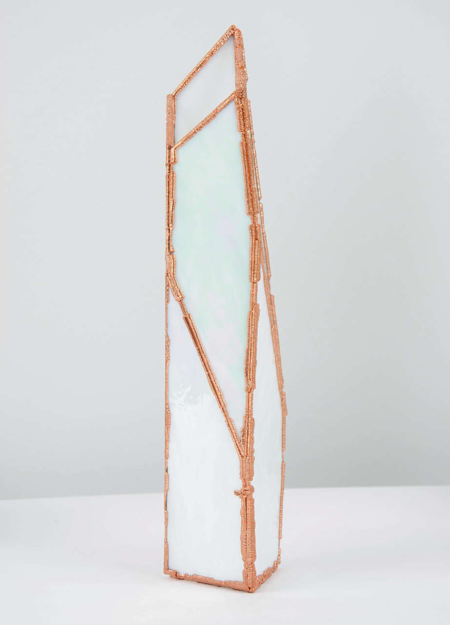 OverNight Vases, Unique Glass and Copper Mixed Colored Vases by Odd Matter In New Condition For Sale In London, GB