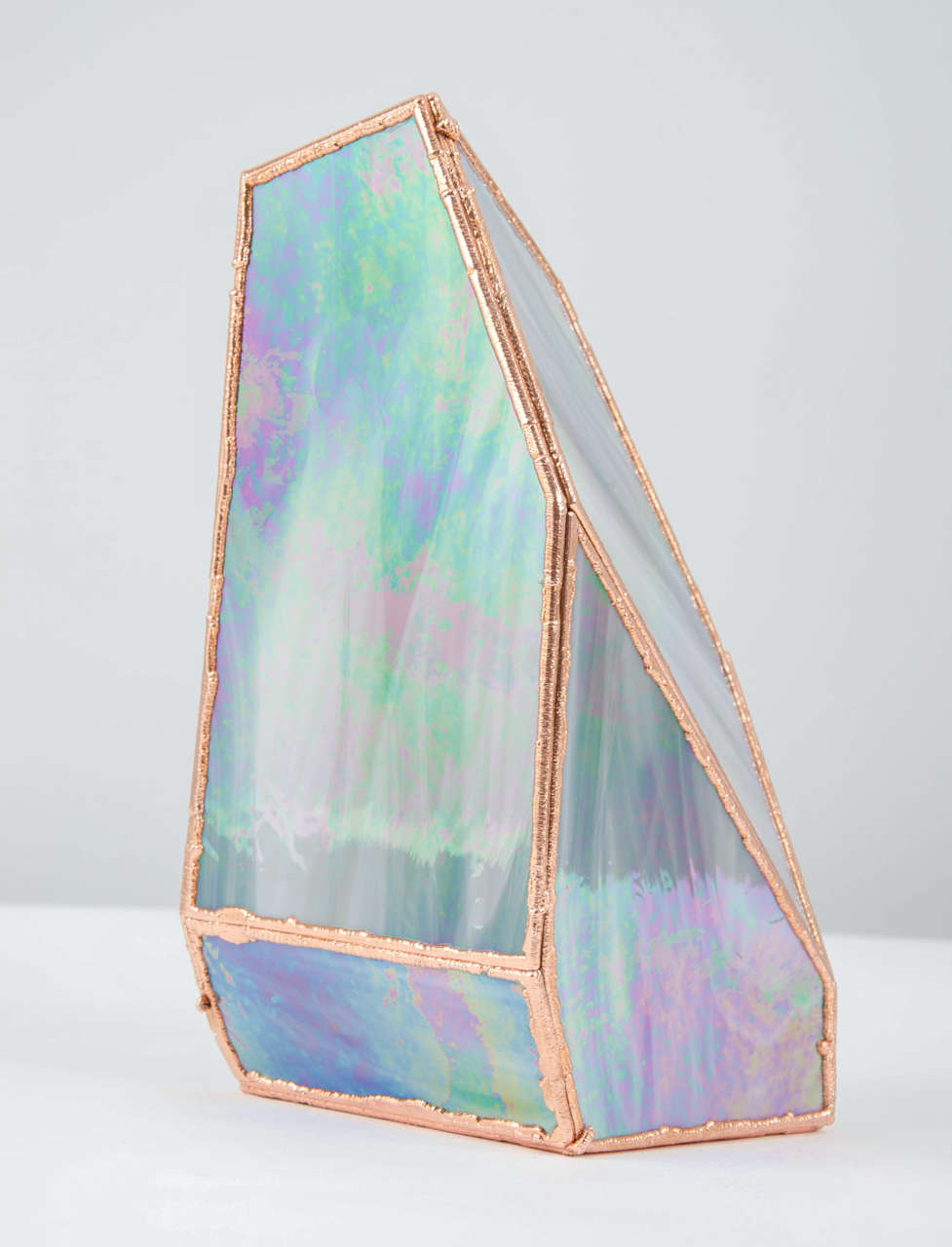 OverNight Vases, Unique Glass and Copper Mixed Colored Vases by Odd Matter For Sale 2