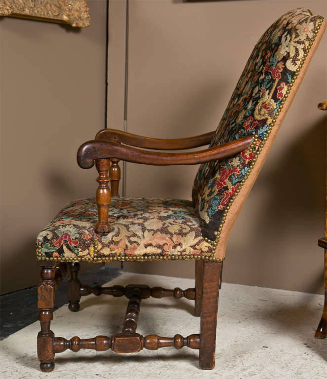 Jacobean Style Armchair At 1stdibs