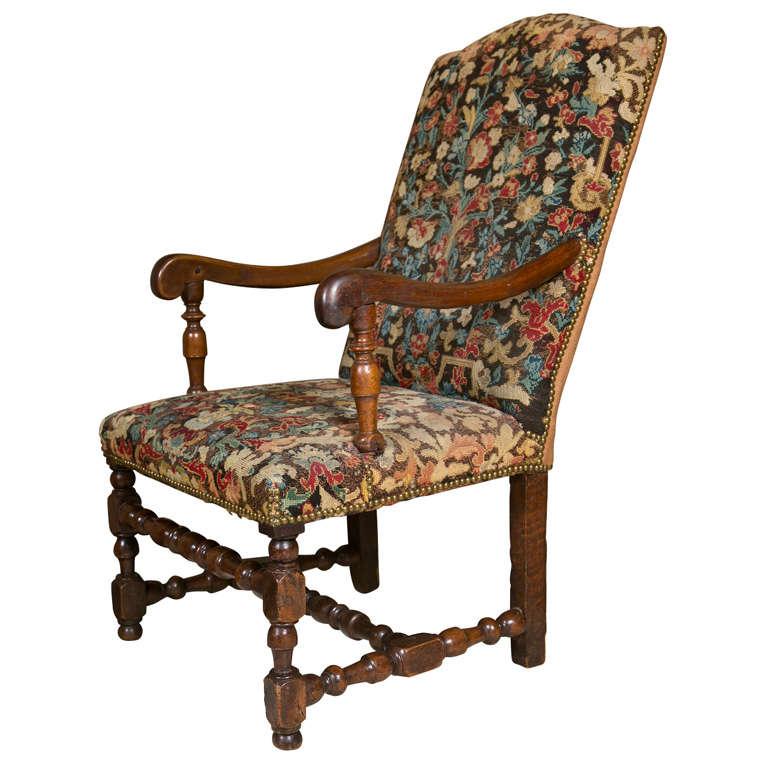 jacobean style armchair at 1stdibs