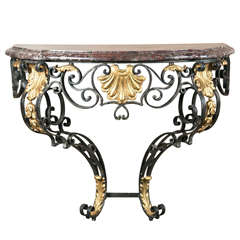 French Regence Style Console