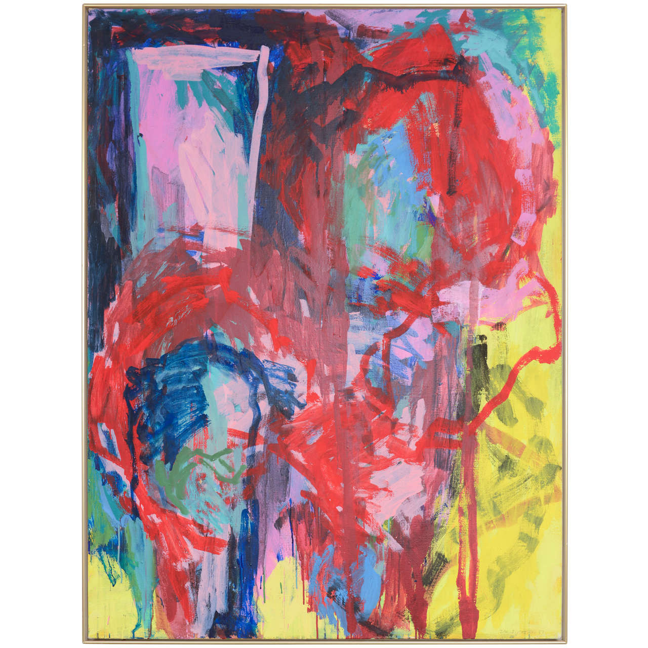 20th Century Danish Abstract Composition by Jan Sivertsen