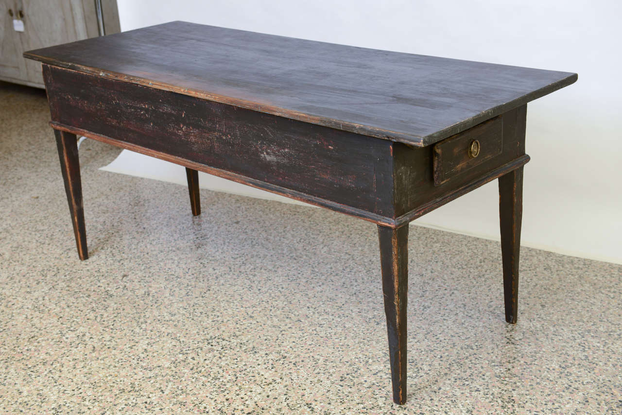 Late 18th Century Antique Swedish Farmhouse Table at 1stdibs