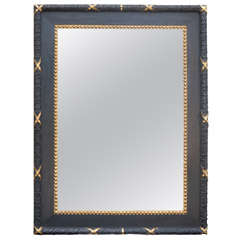 19th Century Black Painted Gothic Revival Mirror At 1stdibs