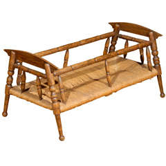 French Provencal Cradle c.1880s