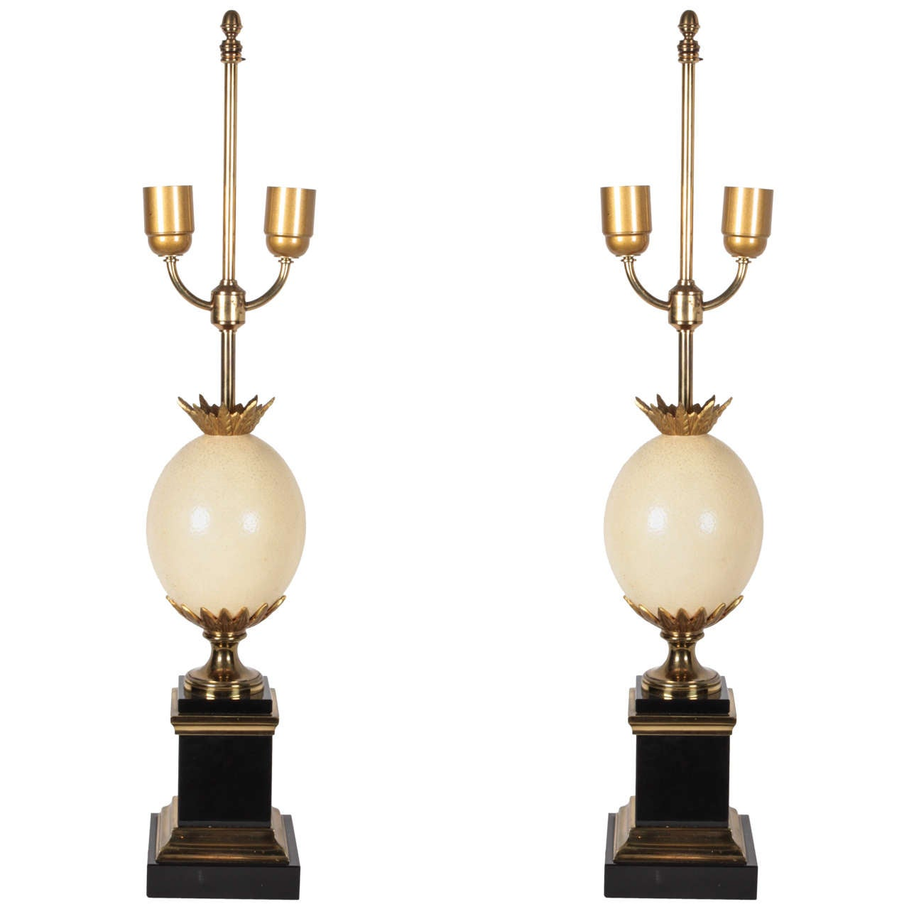 Pair of Table Lamps by Maison Charles